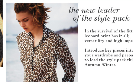 How To Wear: Leopard Print forecast