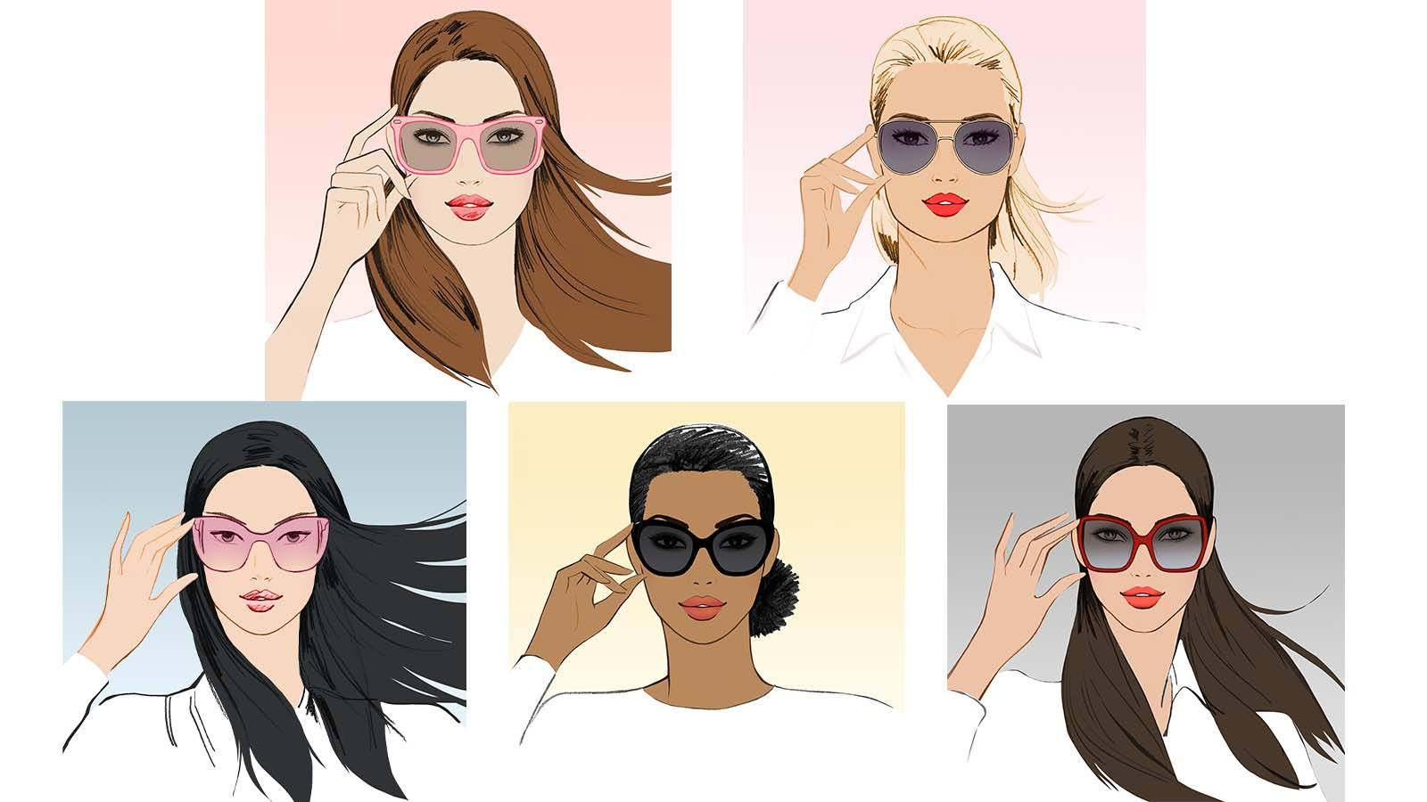 93eadb4317 The Best Sunglasses For Your Face Shape