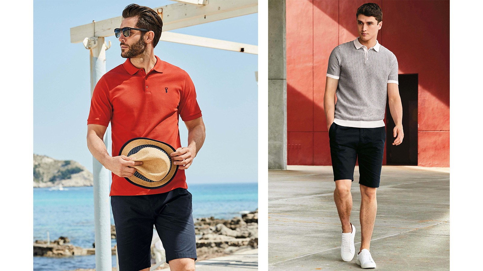 Summer polo shirts