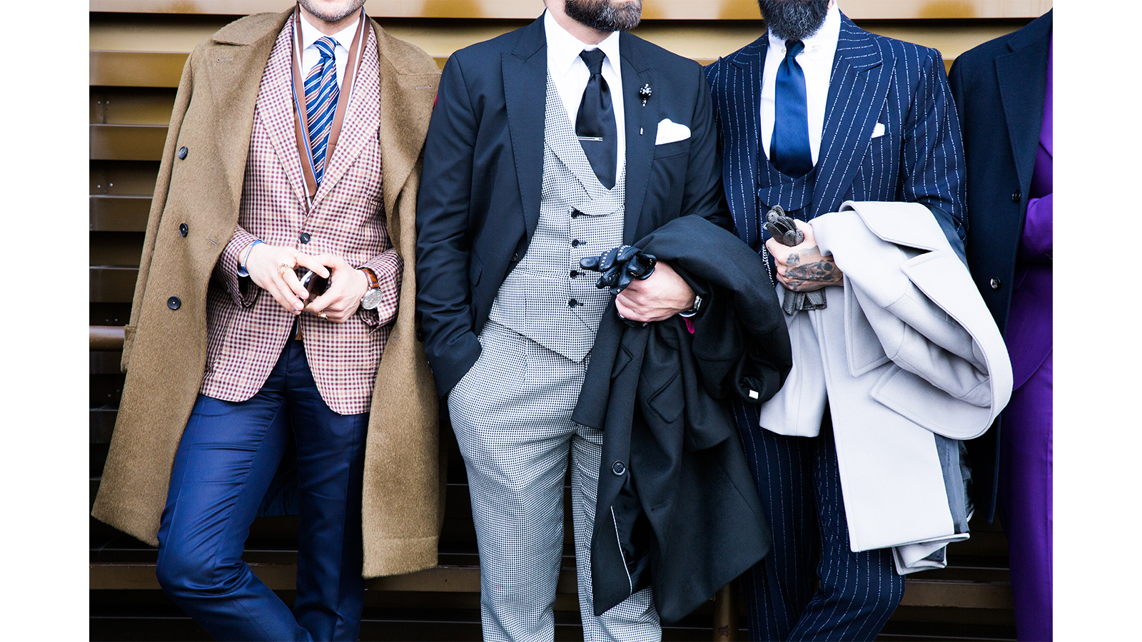 7 style tips for shorter men - use colour to your advantage