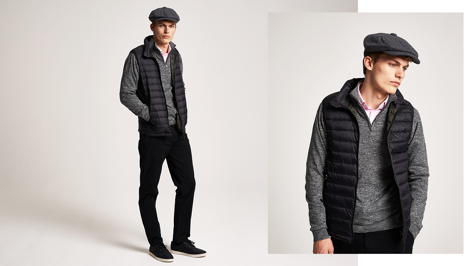 How to layer in style - add a gilet