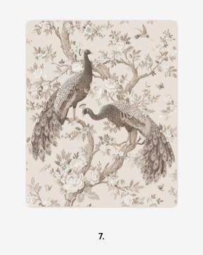 Belvedere Soft Truffle Wallpaper