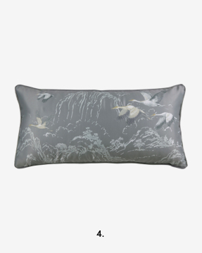 Animalia Steel Cushion