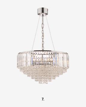 Vienna Crystal 9 Light Chandelier