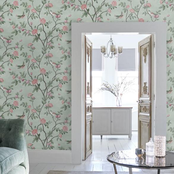 Eglantine Rose Wallpaper