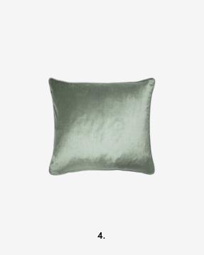 Nigella Grey/Green Cushion