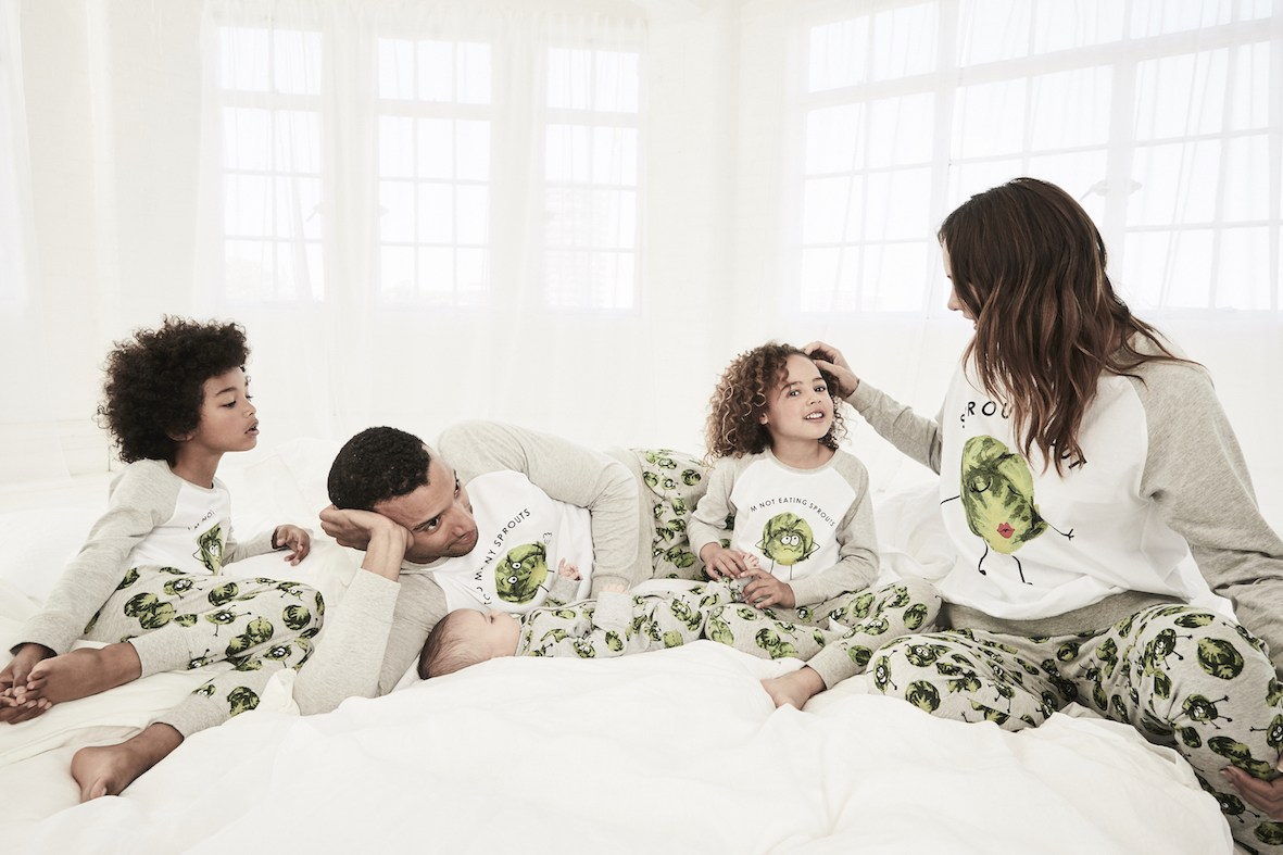Next sprouts family nightwear