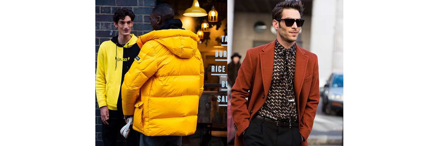 How to wear colour this winter-